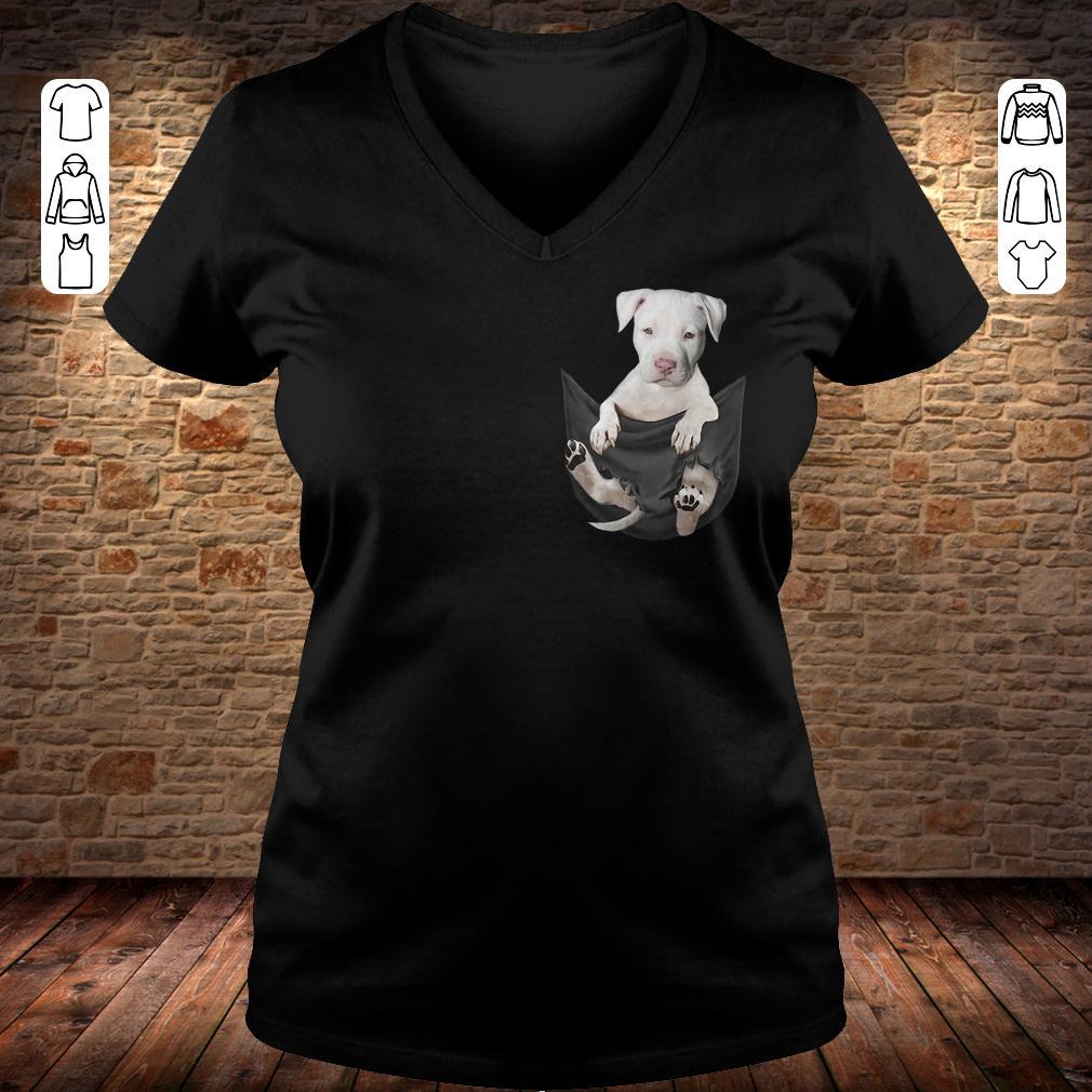 Staffordshire Bull Tiny Pocket shirt Ladies V-Neck