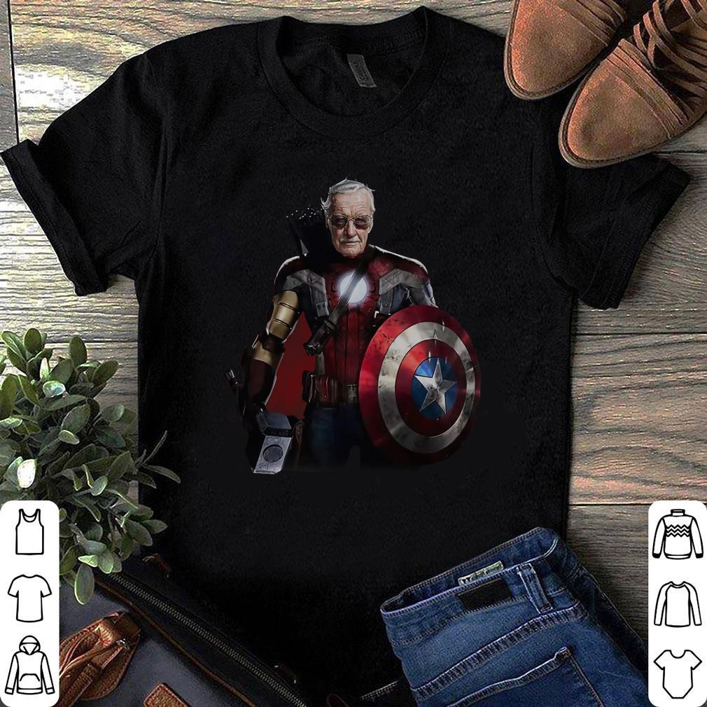 Stan Lee Superhero shirt