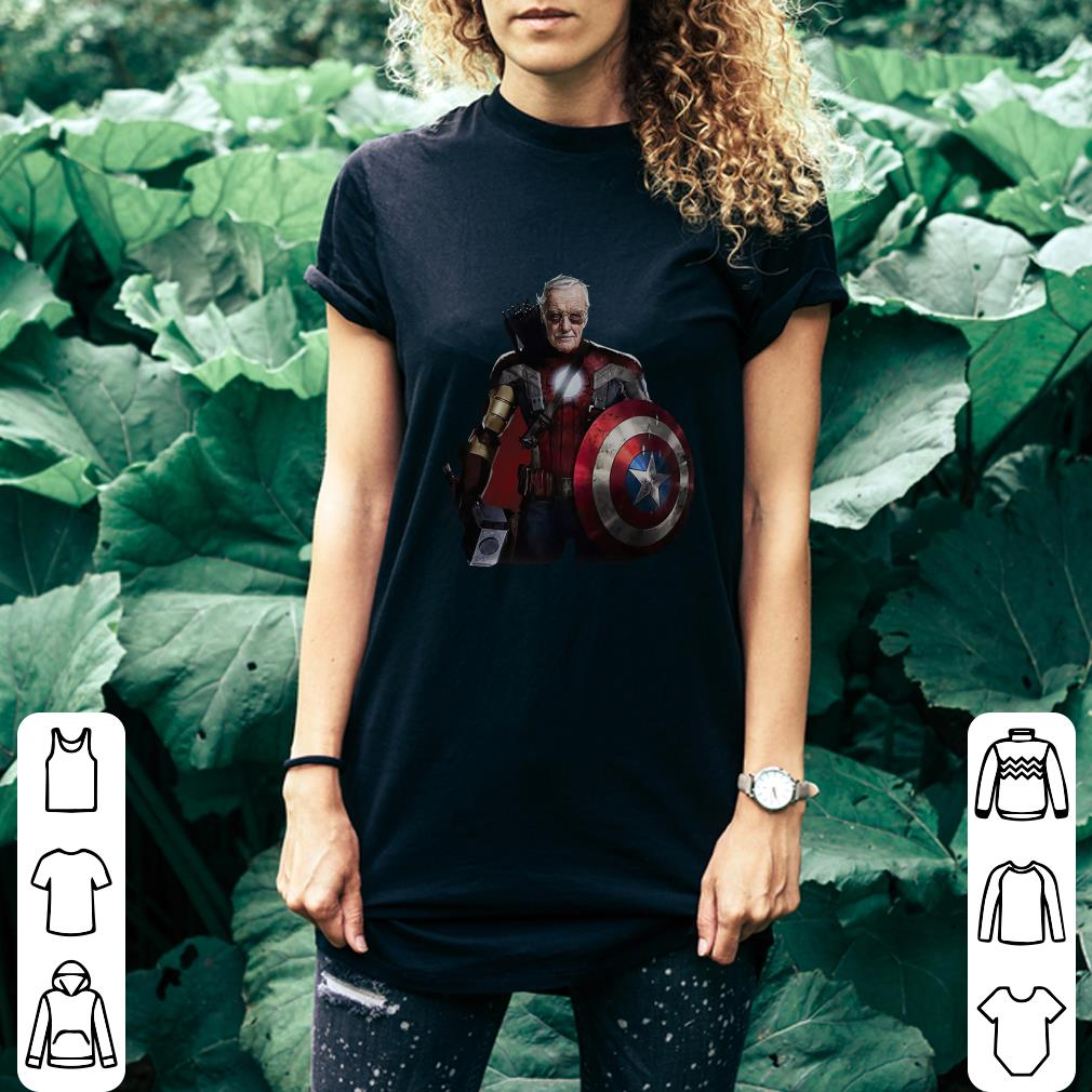Stan Lee Superhero shirt 2