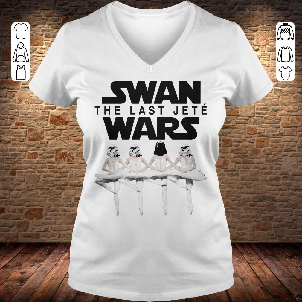 Swan the last jete wars shirt Ladies V-Neck