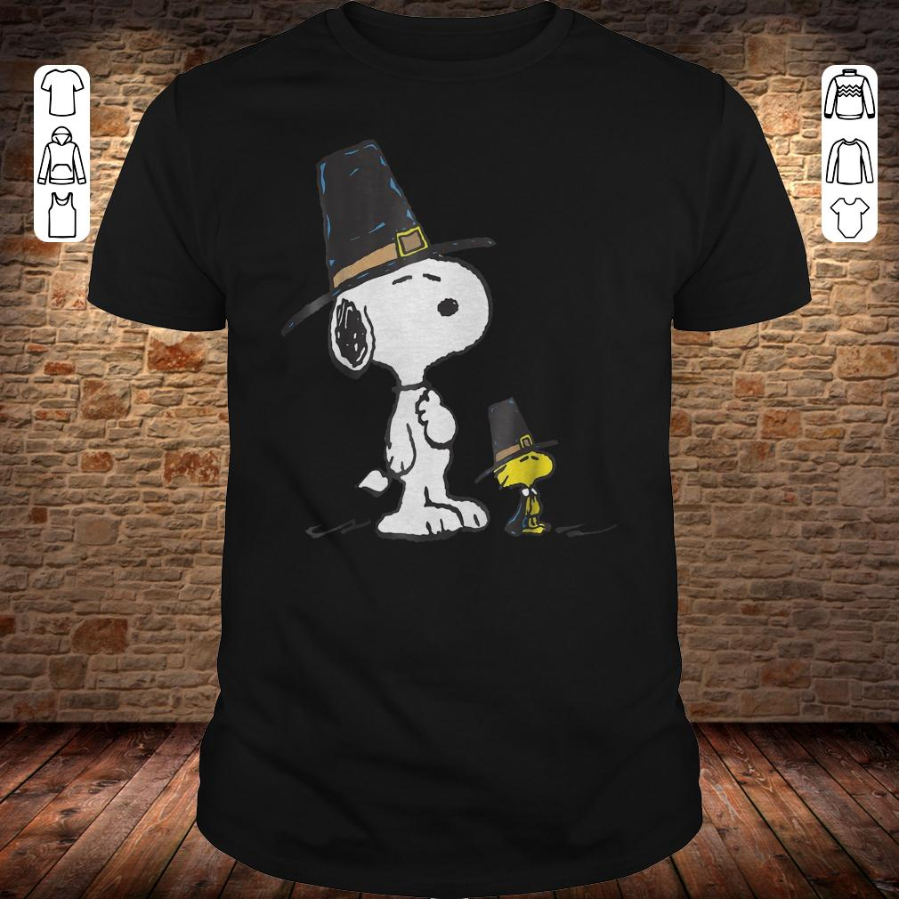 Thanksgiving Peanuts Snoopy Woodstock shirt