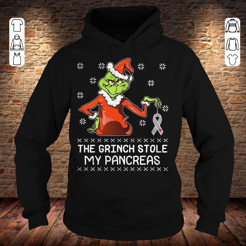 The grinch stole my pancreas shirt Hoodie