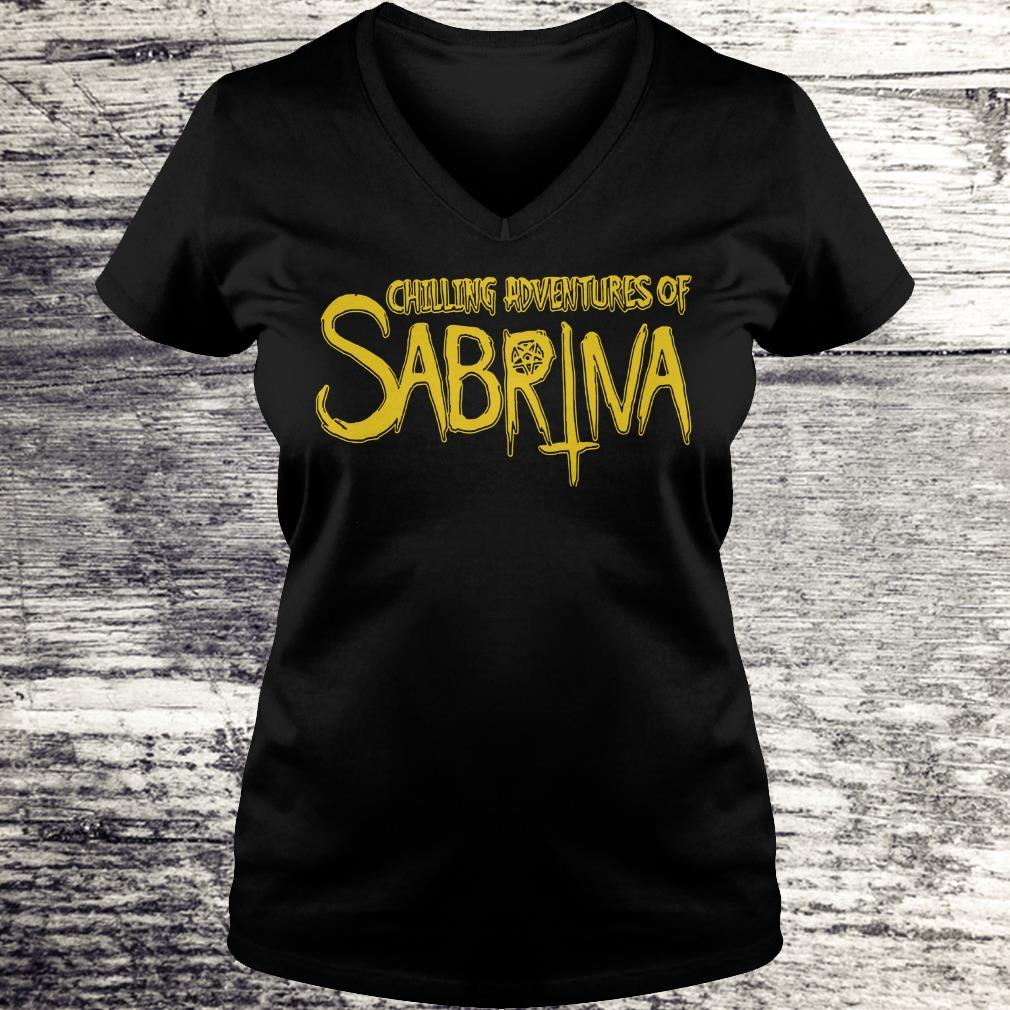 Top Chilling Adventures Of Sabrina shirt Ladies V-Neck