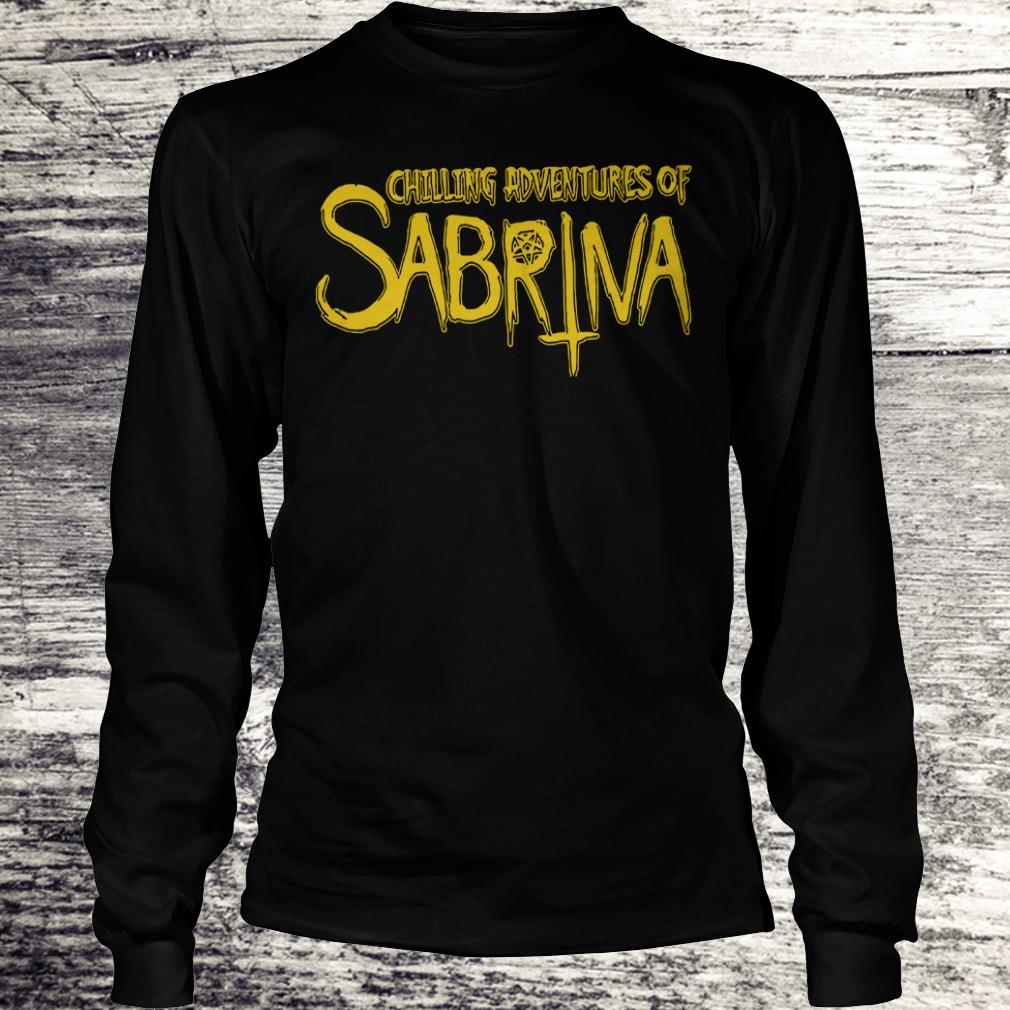 Top Chilling Adventures Of Sabrina shirt Longsleeve Tee Unisex