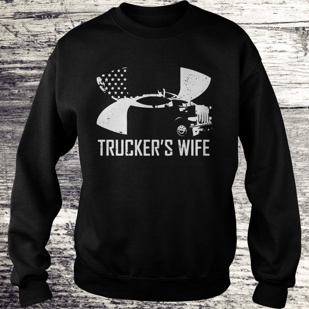 Trucker's wife Under Armour shirt