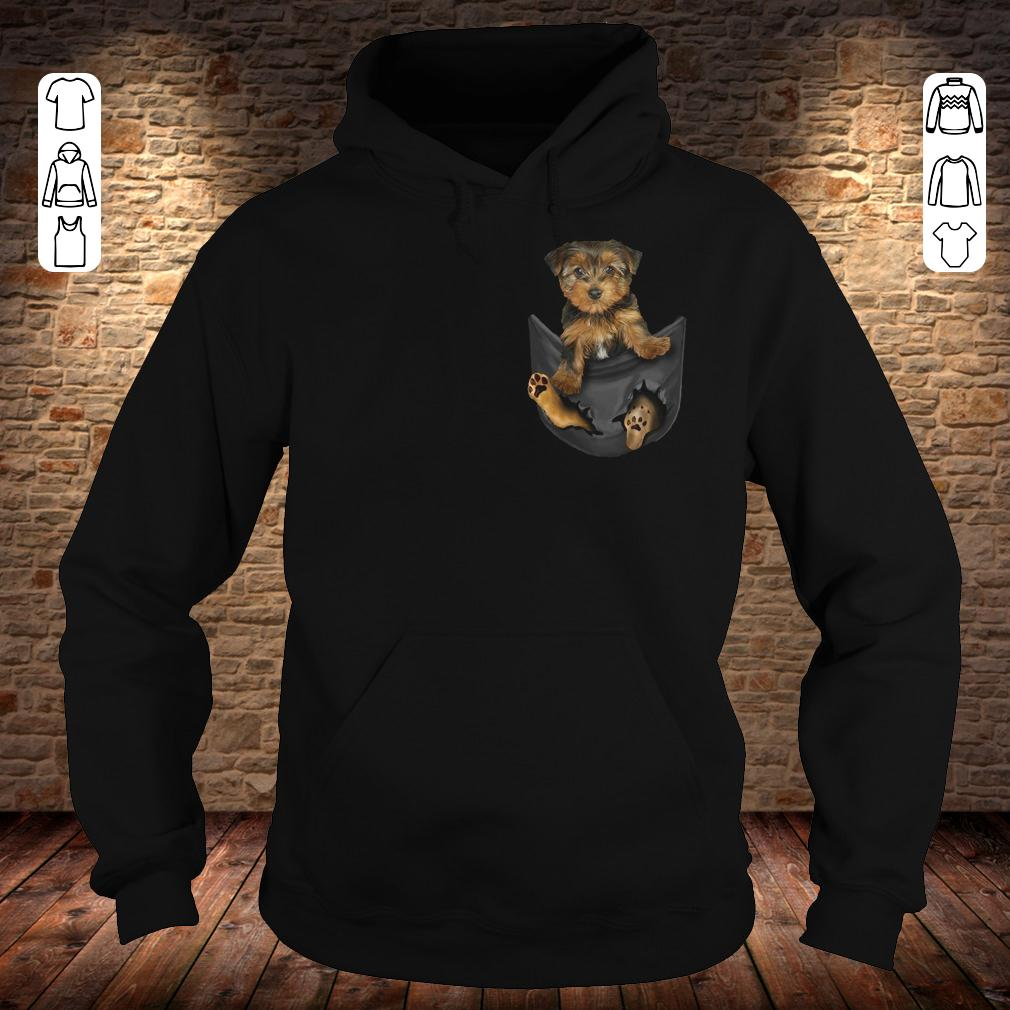 Yorkies Tiny Pocket shirt Hoodie