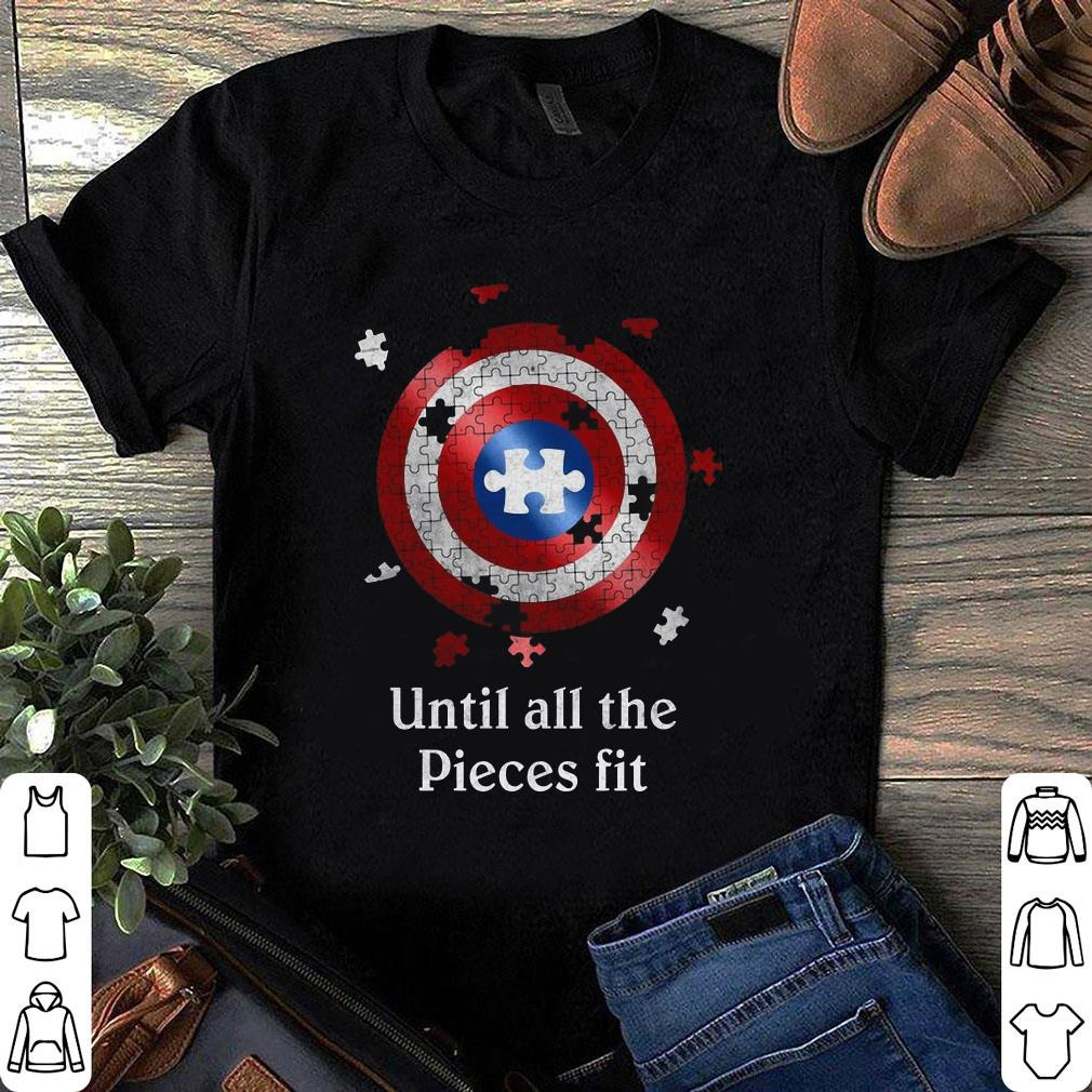 Autism Awareness Target Until All Pieces Fit shirt