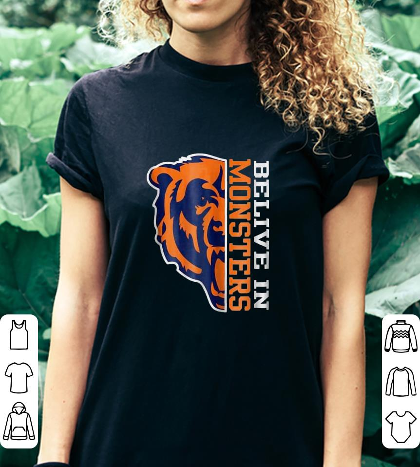 Bear Belive in Monsters shirt