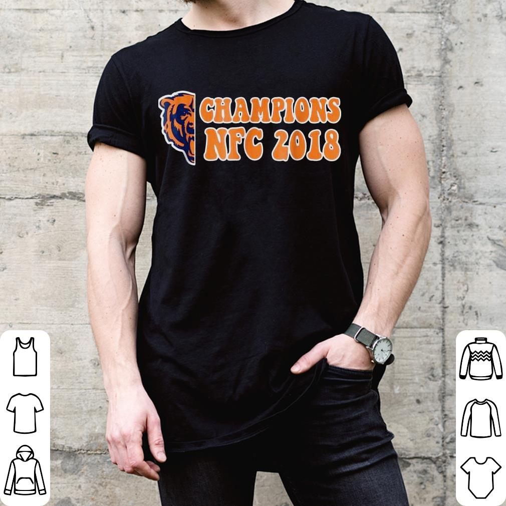 Bear champions NFC 2018 shirt