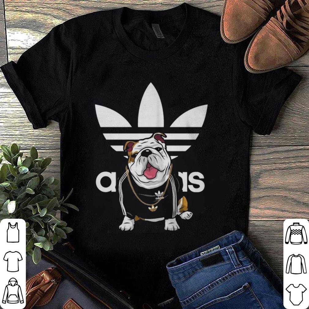 Bulldog Mashup Adidas shirt 1