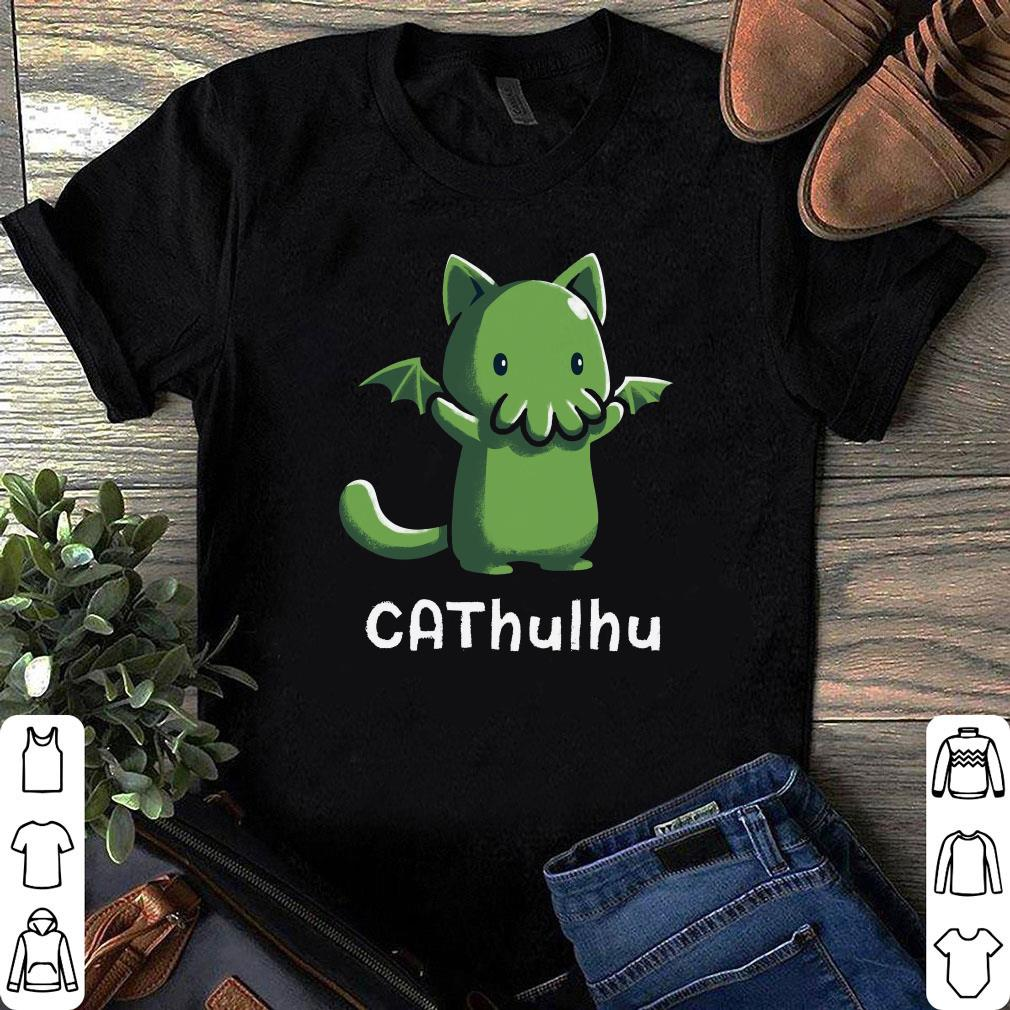 Cat and Cthulhu Cathulhu shirt