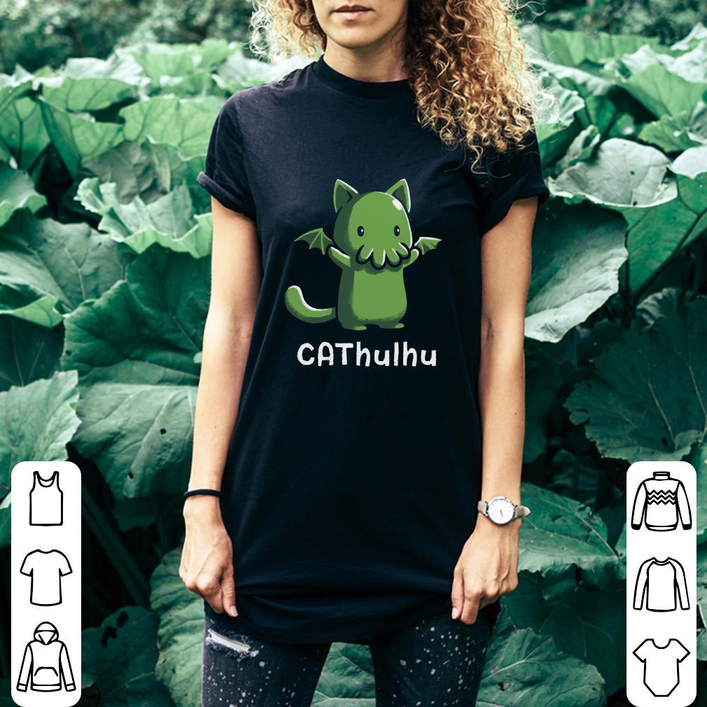 Cat and Cthulhu Cathulhu shirt