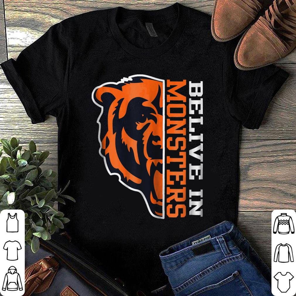 Chicago Bear Belive In Monsters shirt