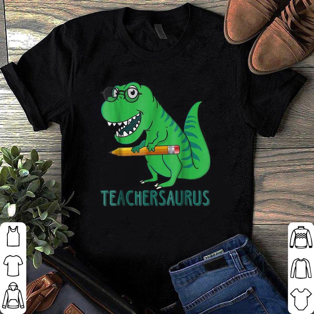 Dinosaur Teacher Saurus shirt