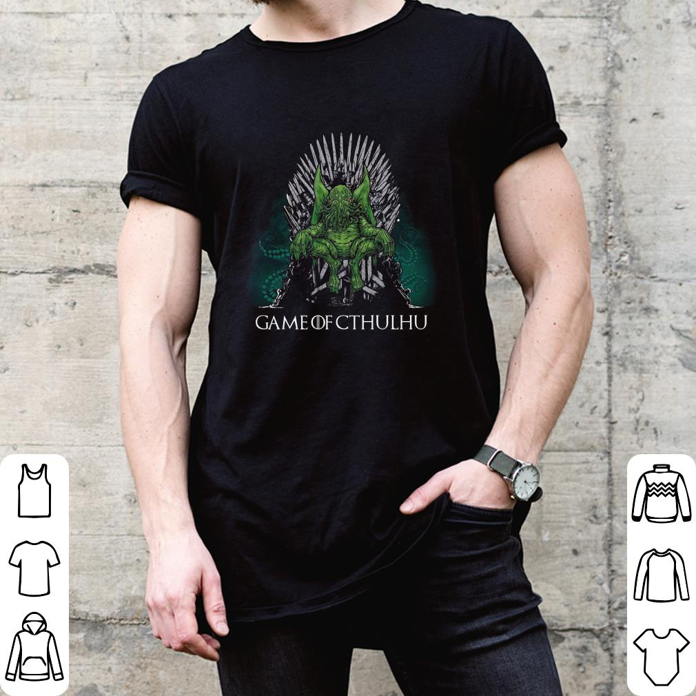 Game Of Cthulhu Call Of Cthulhu shirt 2