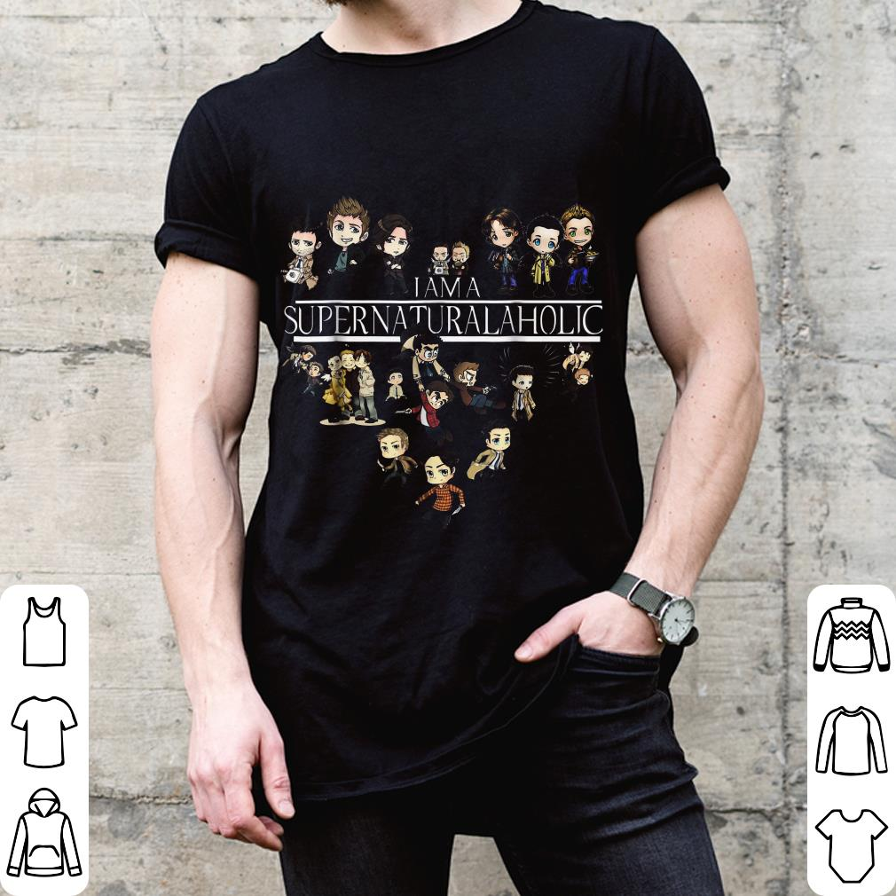 I am a Supernaturalaholic Supernatural aholic shirt