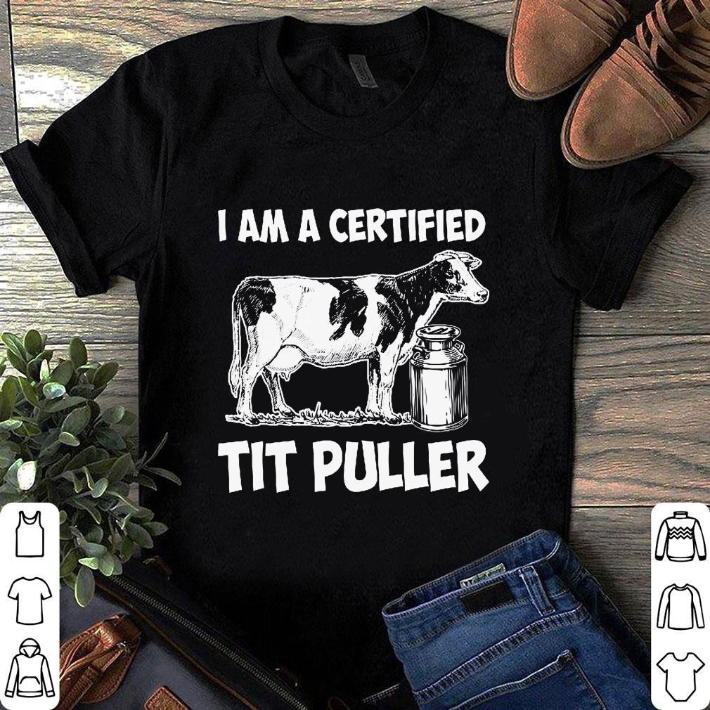 I am a certified tit puller shirt