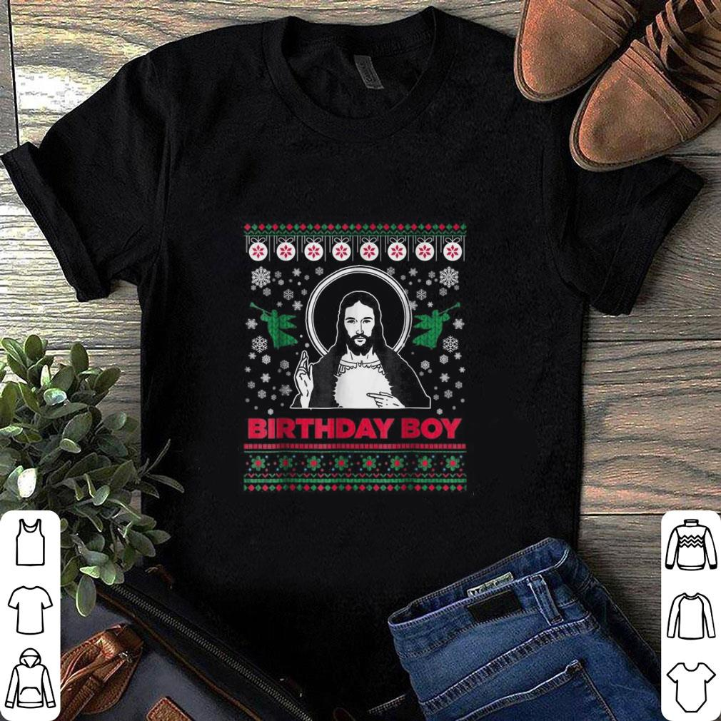 Jesus Birthday Boy Merry Christmas shirt 1
