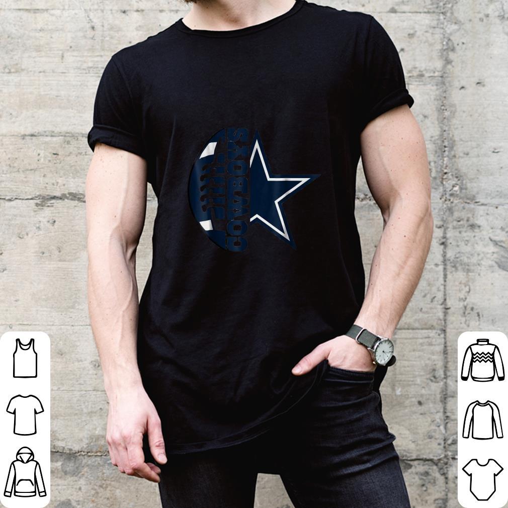 Loves football Loves Cowboys shirt