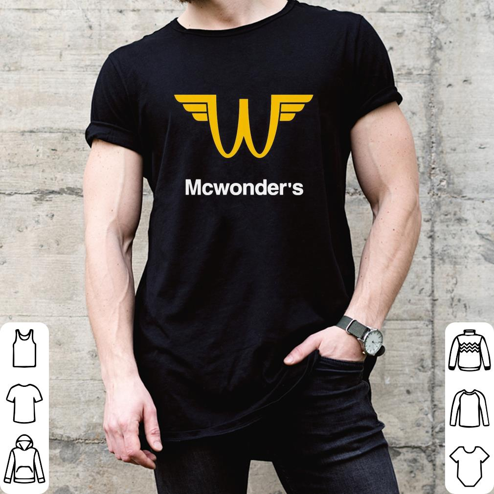 Mc Donalds Mcwonder's shirt