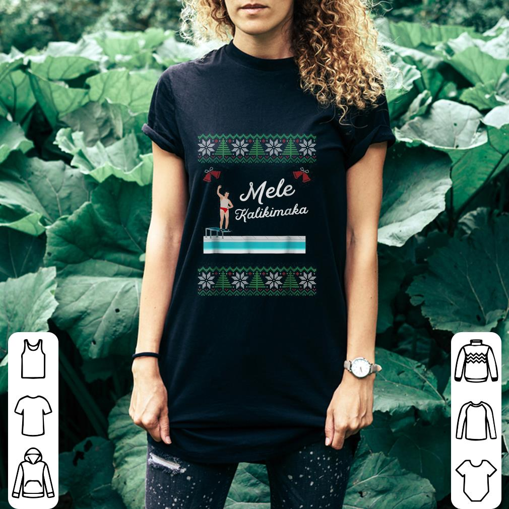 Mele Kalikimaka Christmas shirt