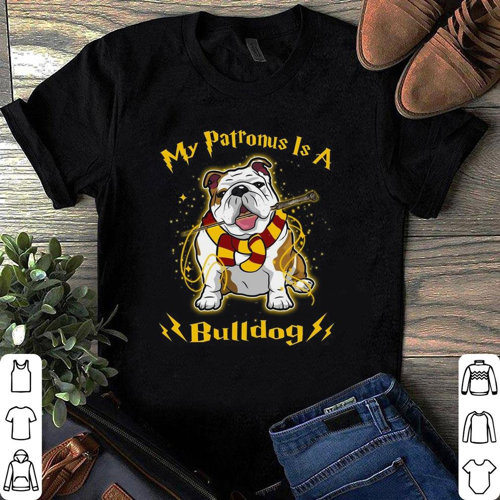My Patronus Is A Bulldog shirt