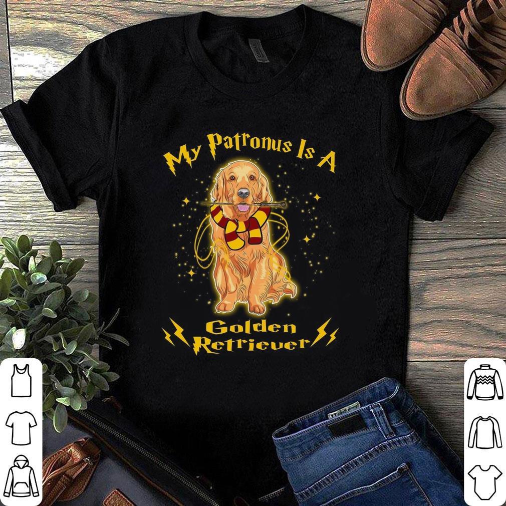 My Patronus Is A Golden Retriever shirt 1
