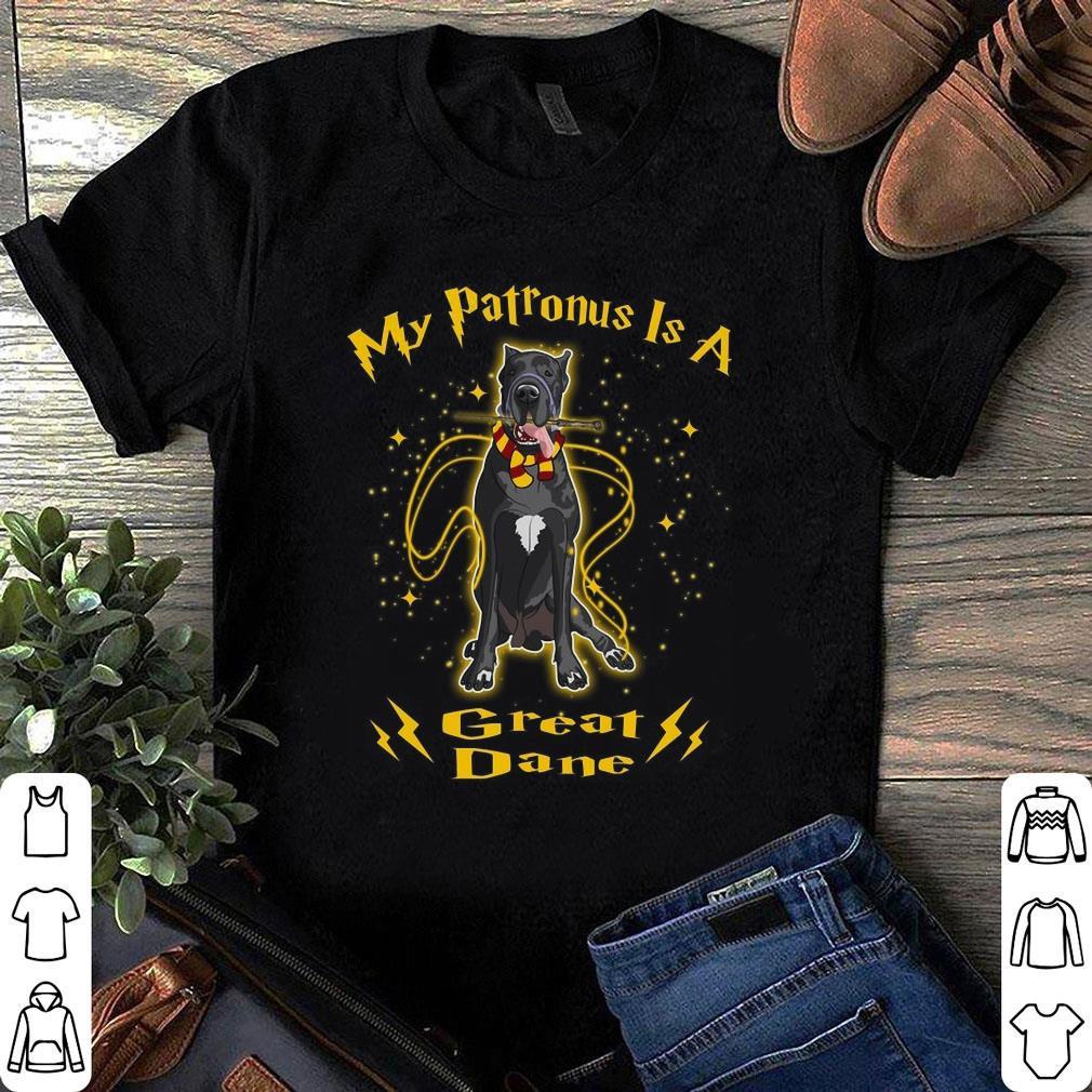 My Patronus Is A Golden Retriever shirt 6