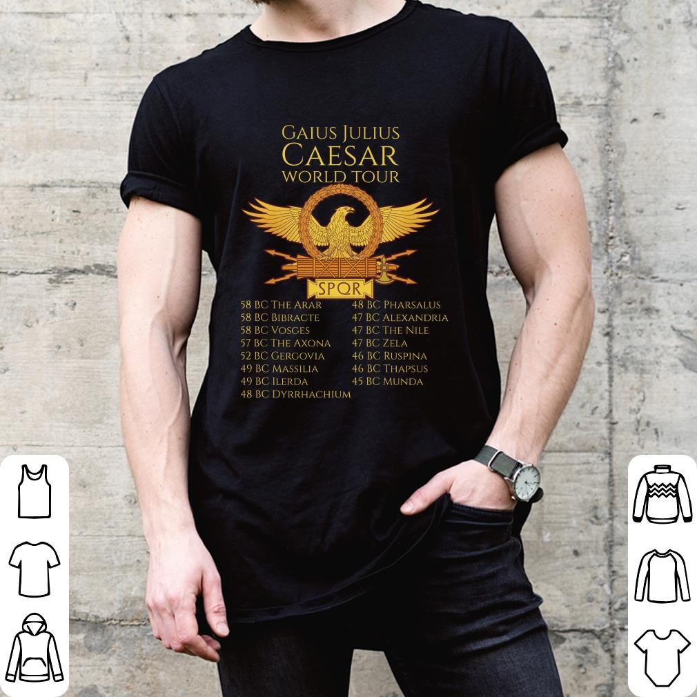 SPQR Julius Caesar World Tour shirt
