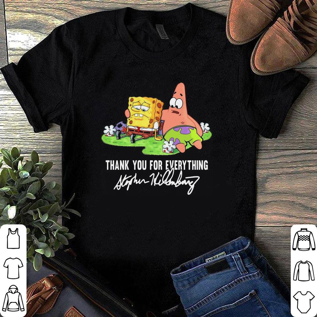 Spongebob And Patrick Thank You For Everything shirt