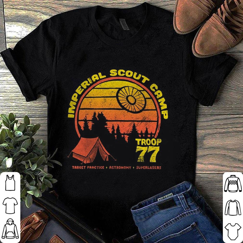Star Wars Imperial Scout Camp Troop 77 shirt