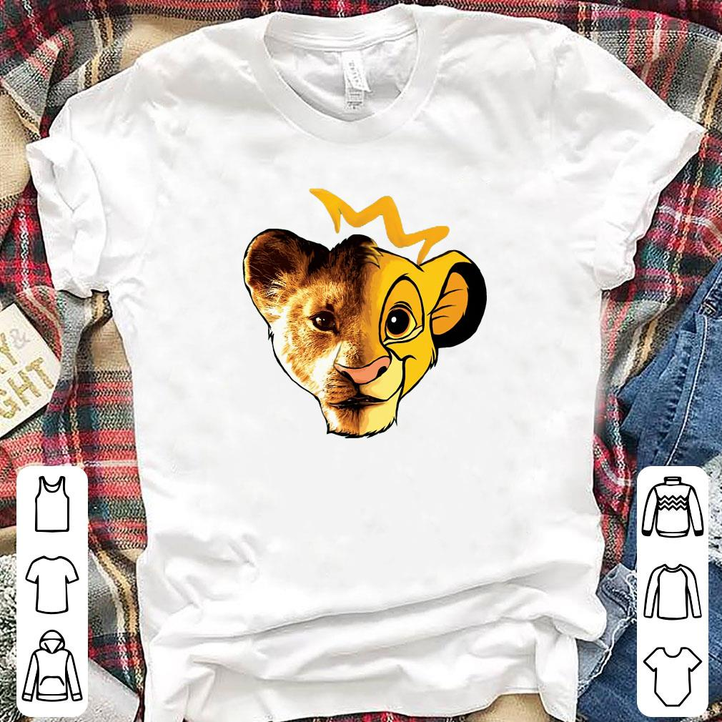 The Lion King Face shirt 1