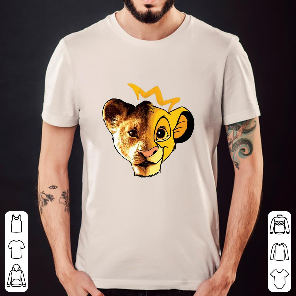 The Lion King Face shirt 2