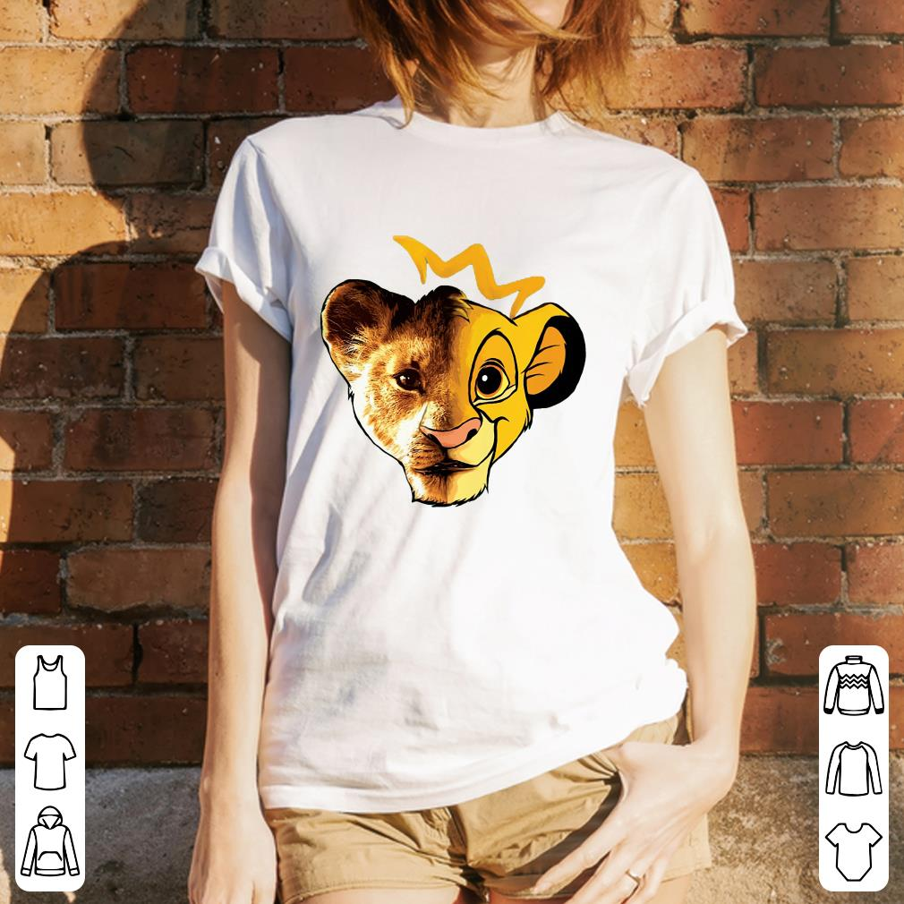 The Lion King Face shirt 3