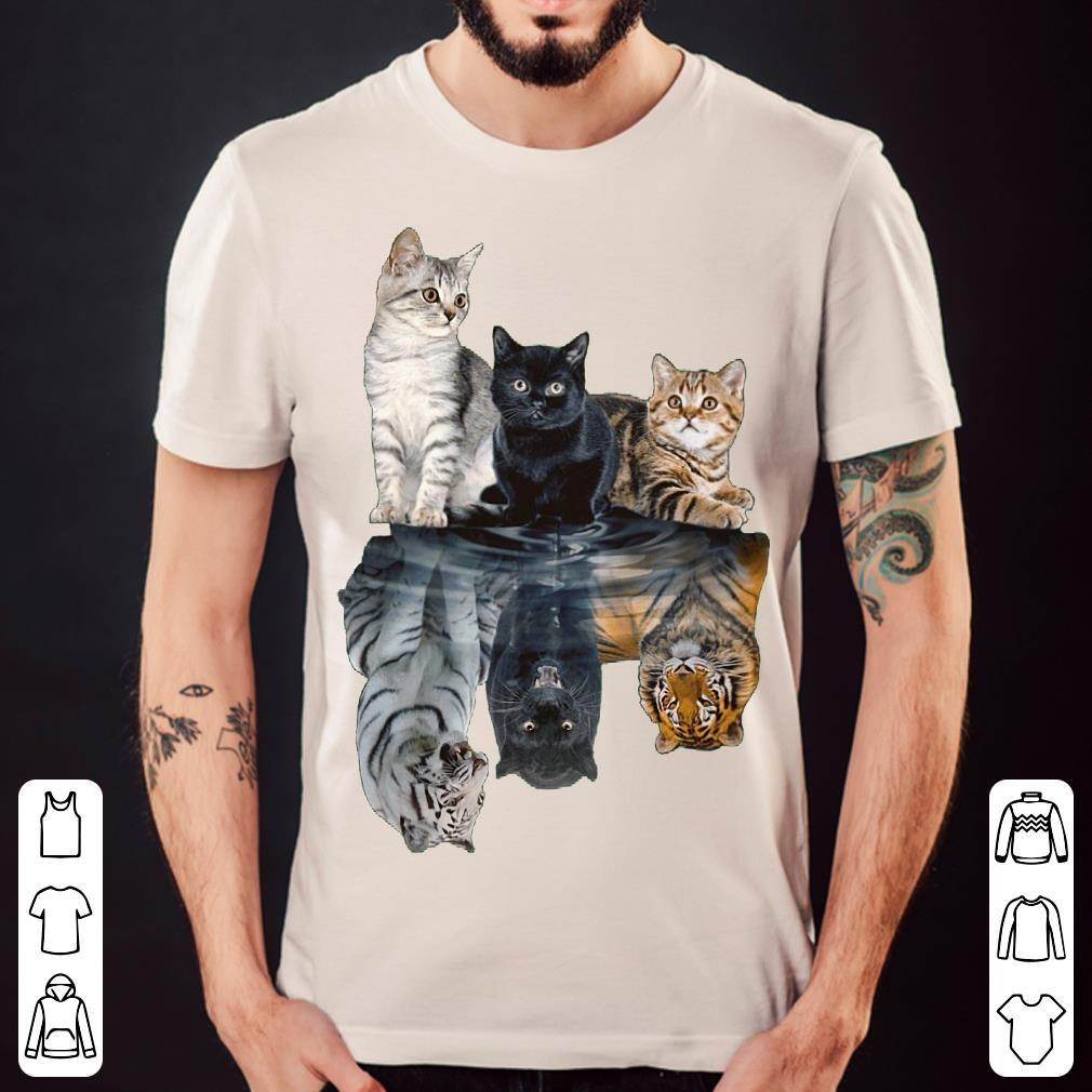 Cats shadow tigers shirt