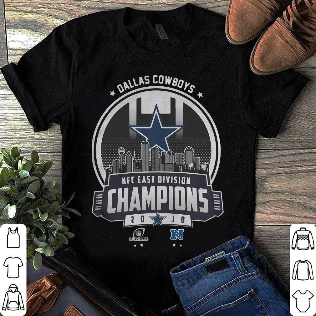 017f1651e Champions 2018 NFC East Division Dallas Cowboys shirt ...