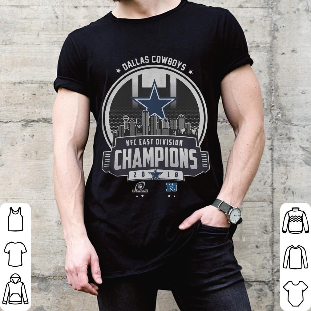 Champions 2018 NFC East Division Dallas Cowboys shirt