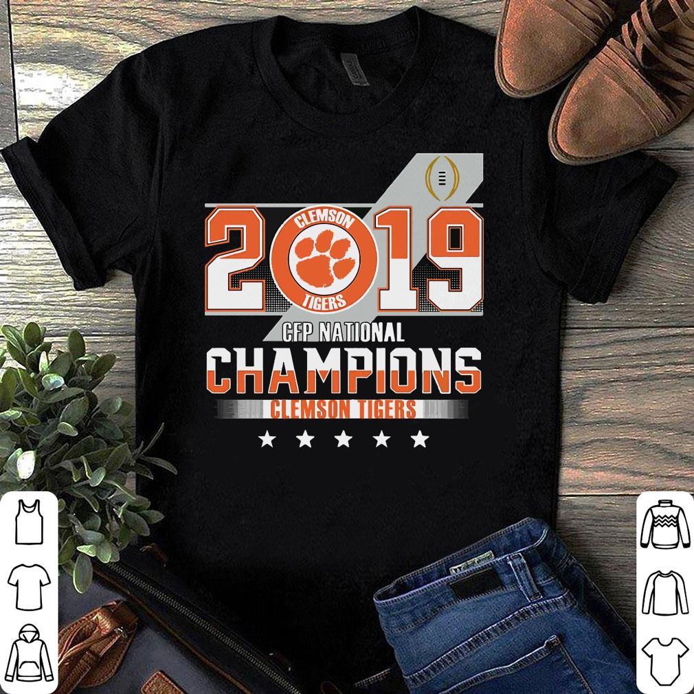 Clemson Tiger 2019 CFP national champions shirt
