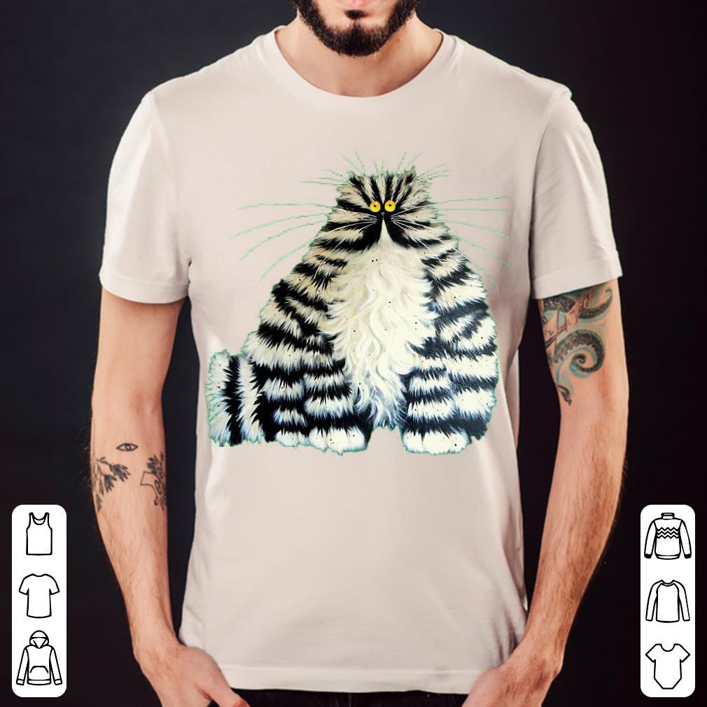 Crazy fat cat shirt