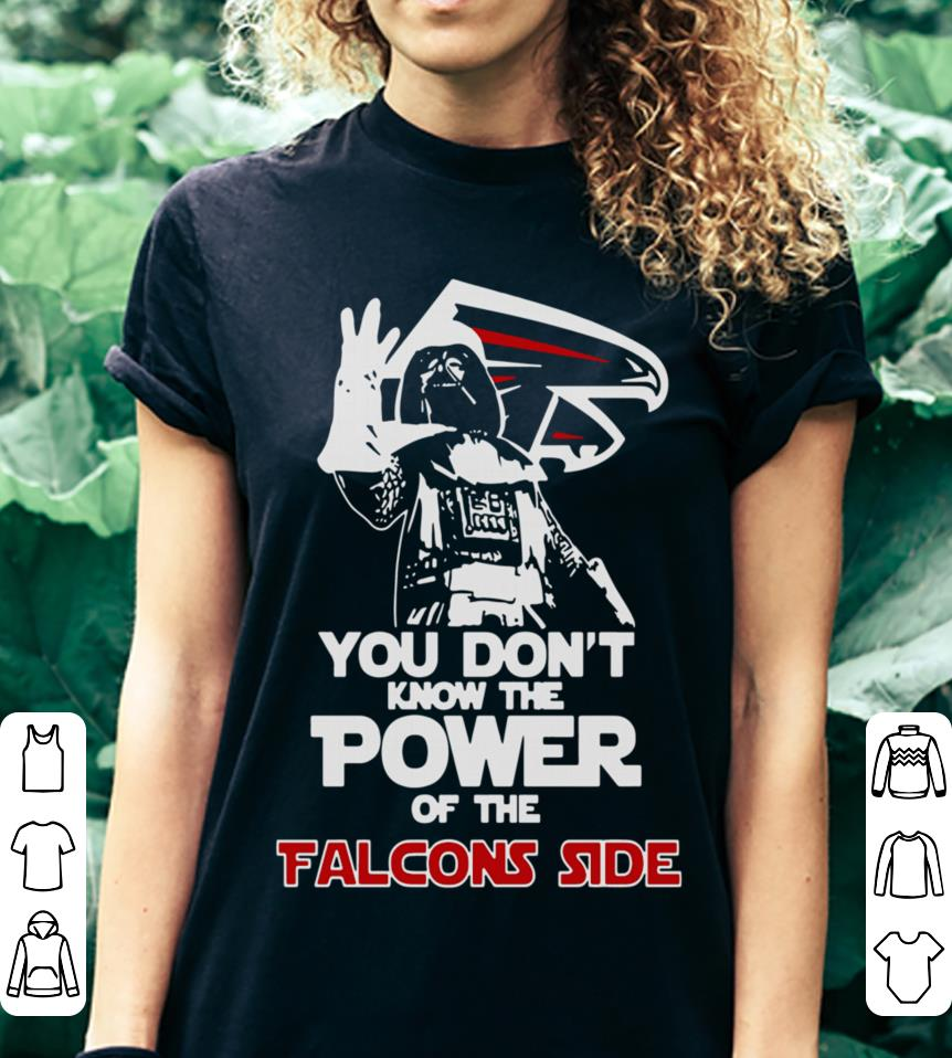 Darth Vader You Don't Know The Power Of The Falcons Side shirt