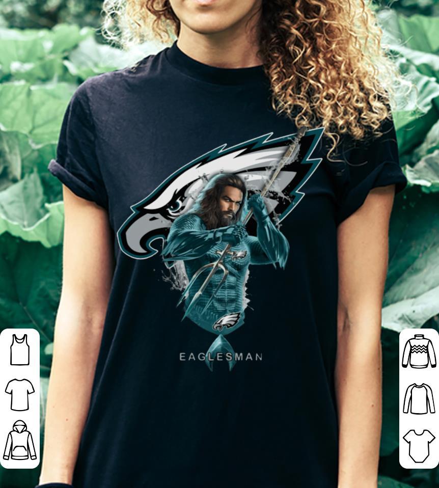 Eaglesman Aquaman mashup Philadelphia Eagles shirt