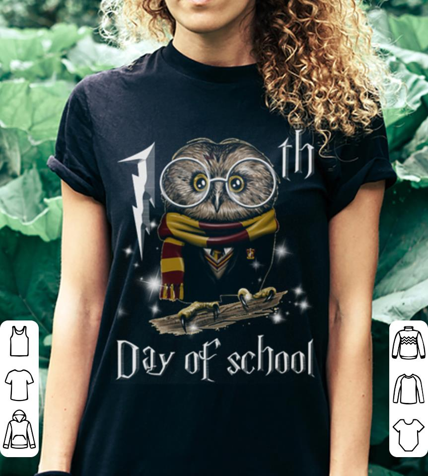 Harry Potter Owl 100th day of school shirt 3