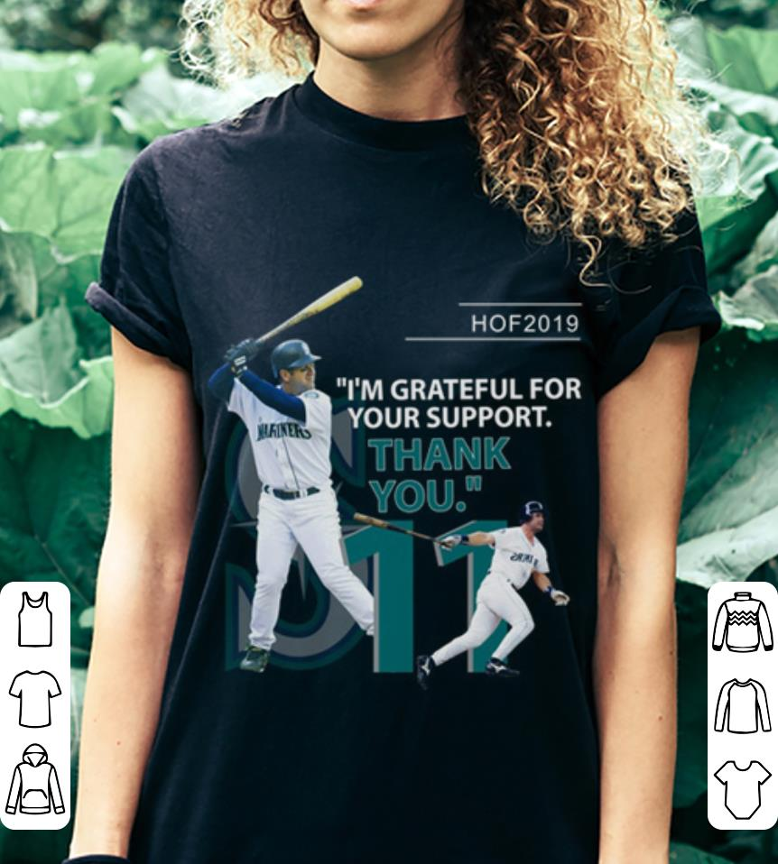 Hof 2019 i'm grateful for your support thank you shirt