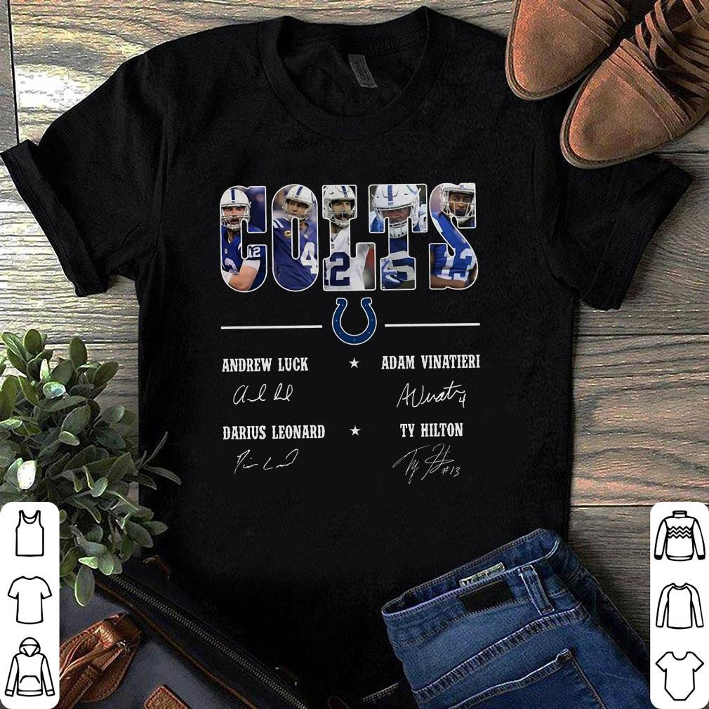 Indianapolis Colts Team names signature shirt