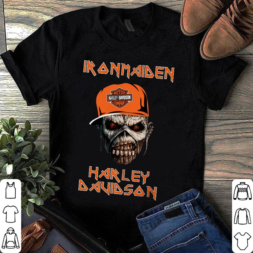 iron maiden harley davidson skull shirt hoodie sweater. Black Bedroom Furniture Sets. Home Design Ideas