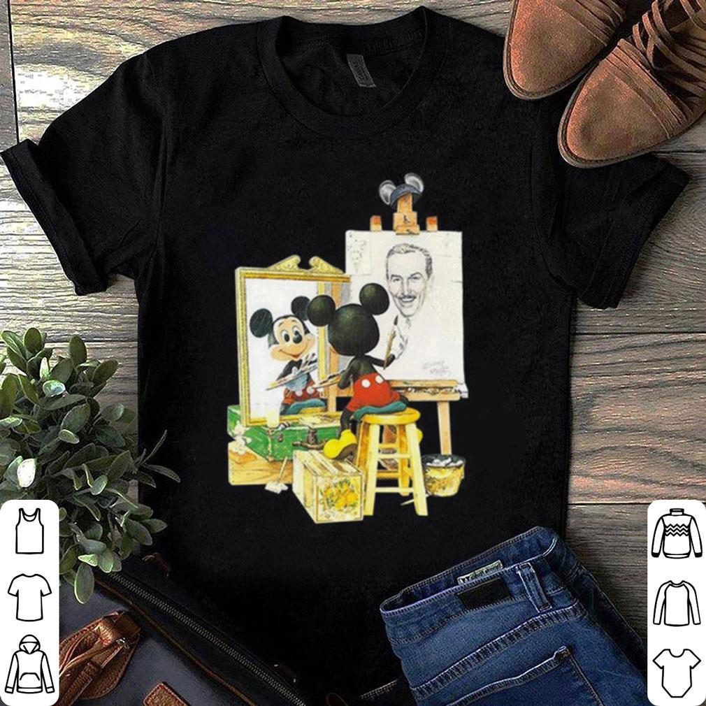 Mickey Norman Rockwell shirt