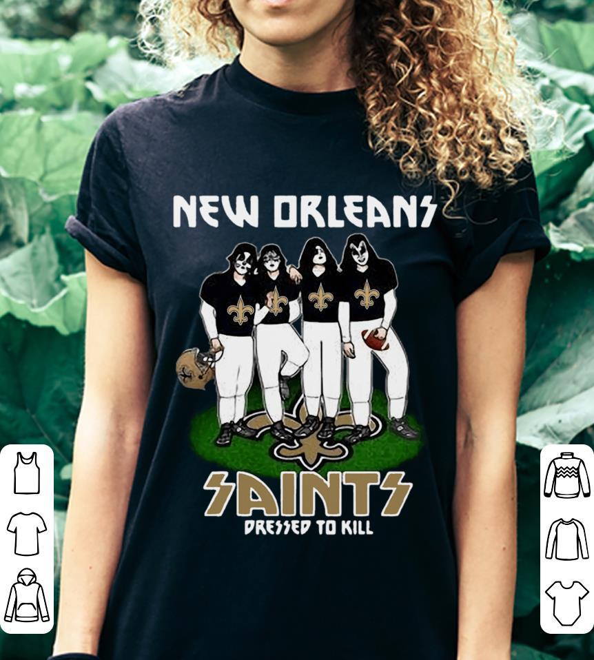 New Orleans Saints dressed to kill shirt