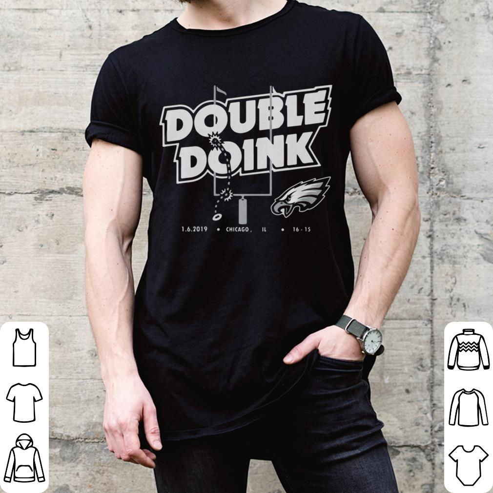 Philadelphia Eagles double doink shirt