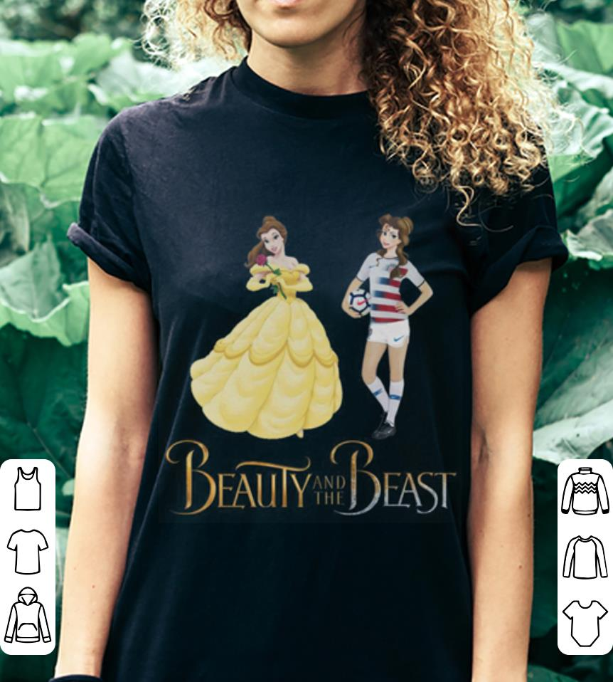 Soccer Beauty and the beast shirt 3