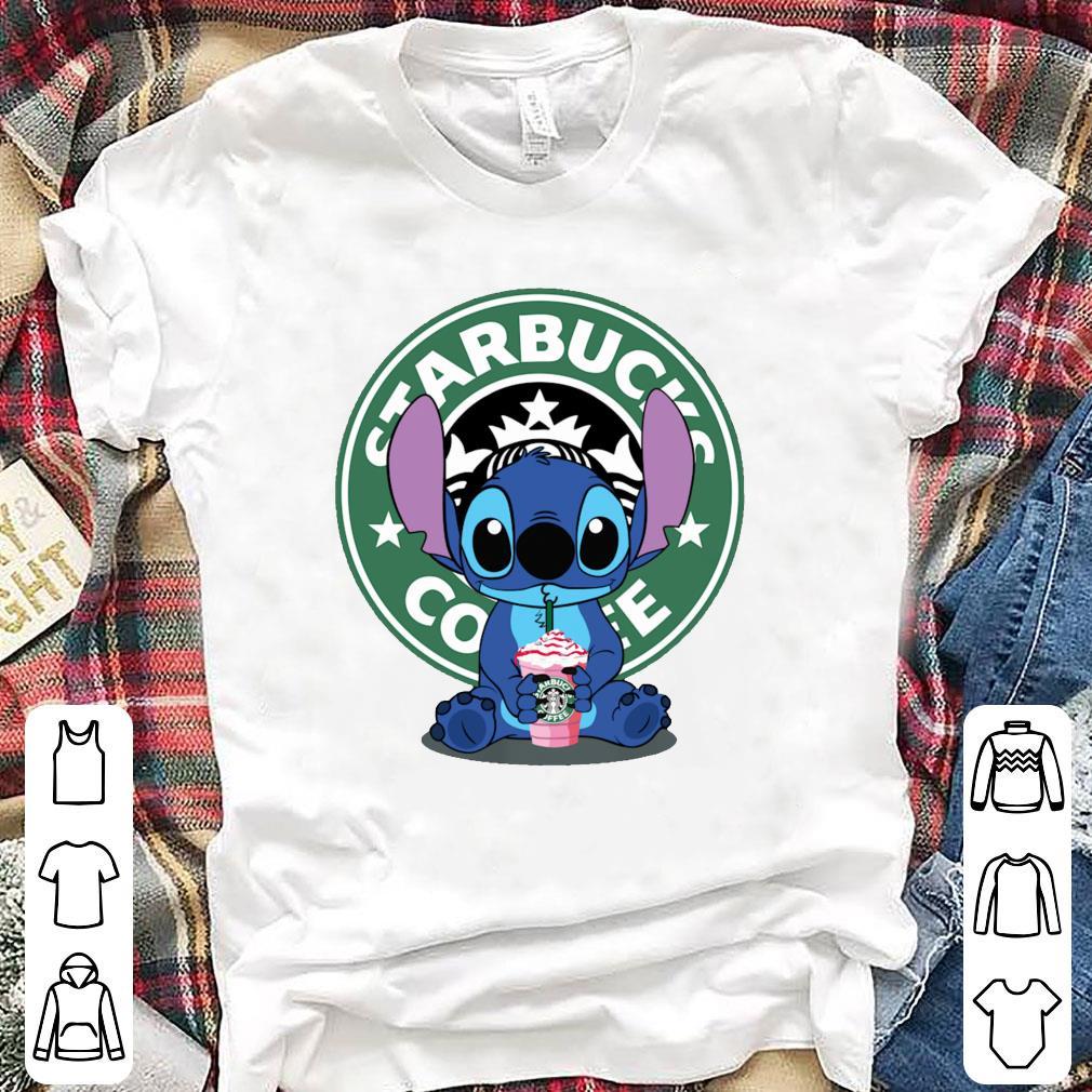 Stitch drink Starbucks Coffee shirt